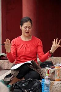 Paloma in Wutai Shan
